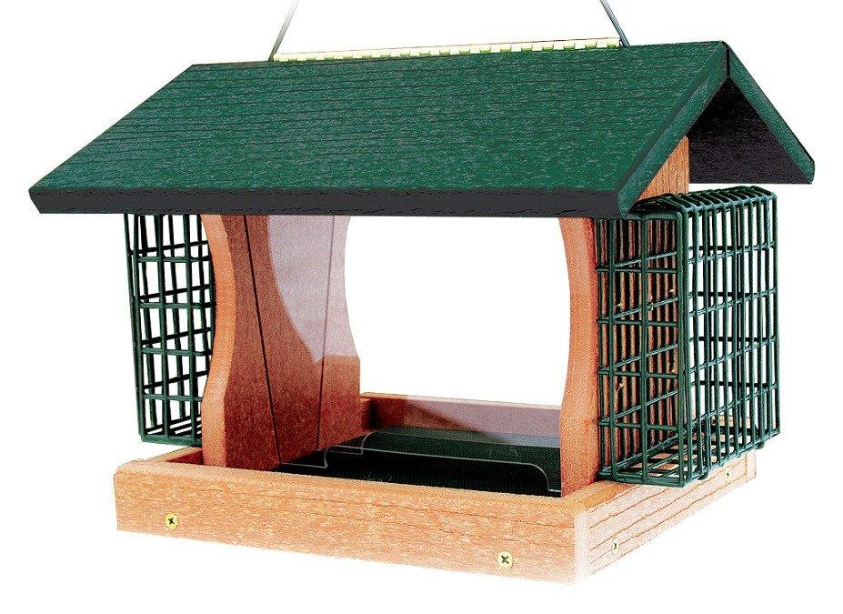 Covered Platform Feeder The Bird House Ny
